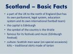 scotland basic facts