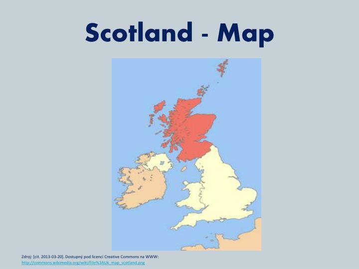 Scotland - Map