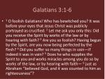 galatians 3 1 6
