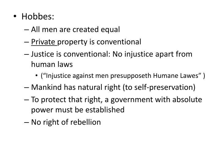 Hobbes: