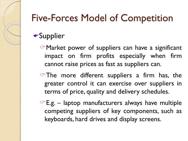 Five-Forces Model of Competition