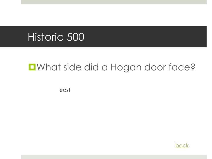 Historic 500