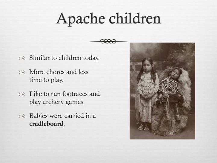 Apache children