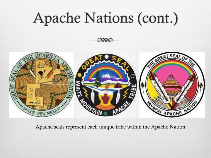 Apache Nations (cont.)