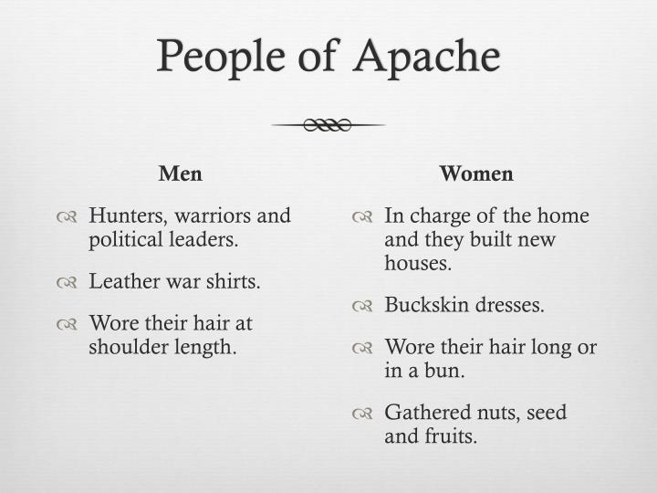 People of Apache