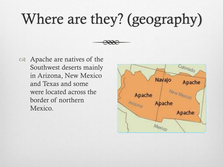 Where are they? (geography)