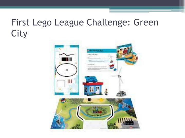 First Lego League Challenge: Green City