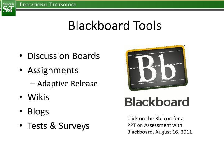 Blackboard Tools