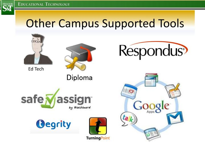 Other Campus Supported Tools