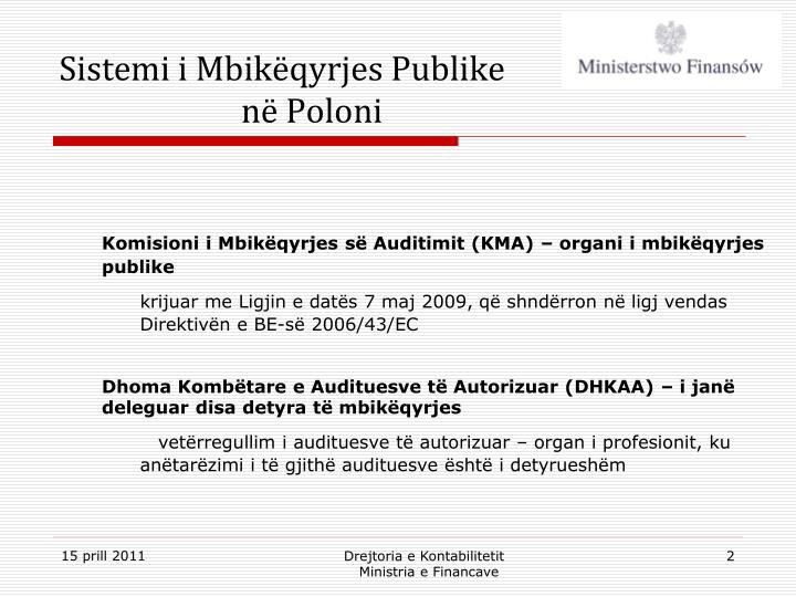 Sistemi i Mbikëqyrjes Publike në Poloni