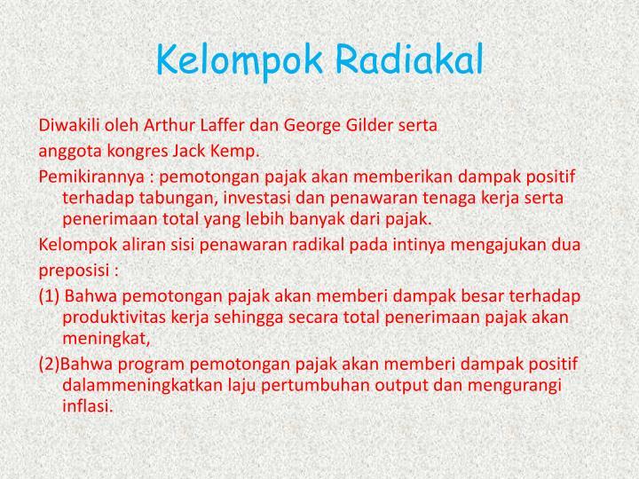 Kelompok Radiakal