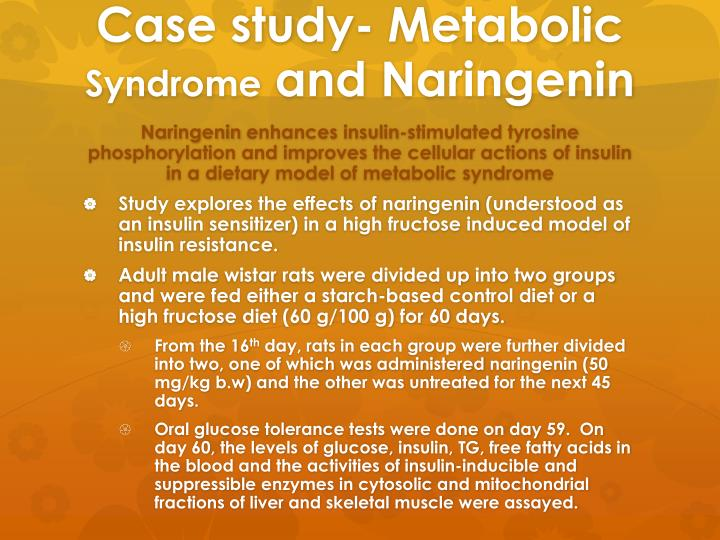 Case study- Metabolic