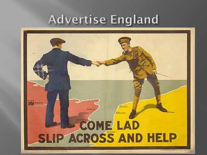 Advertise England