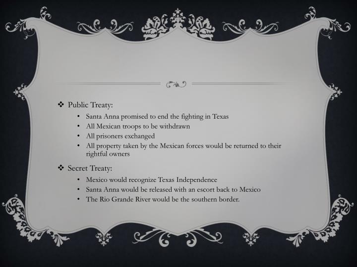 Public Treaty: