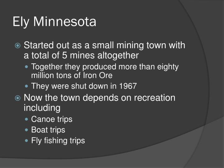 Ely Minnesota