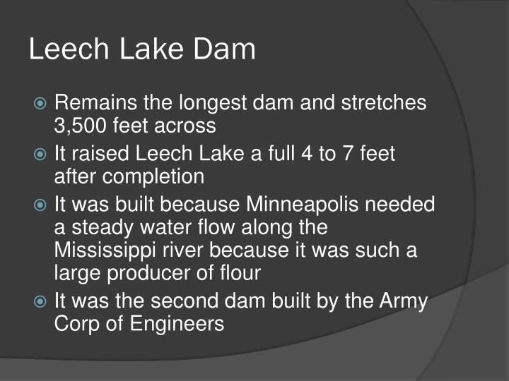 Leech Lake Dam