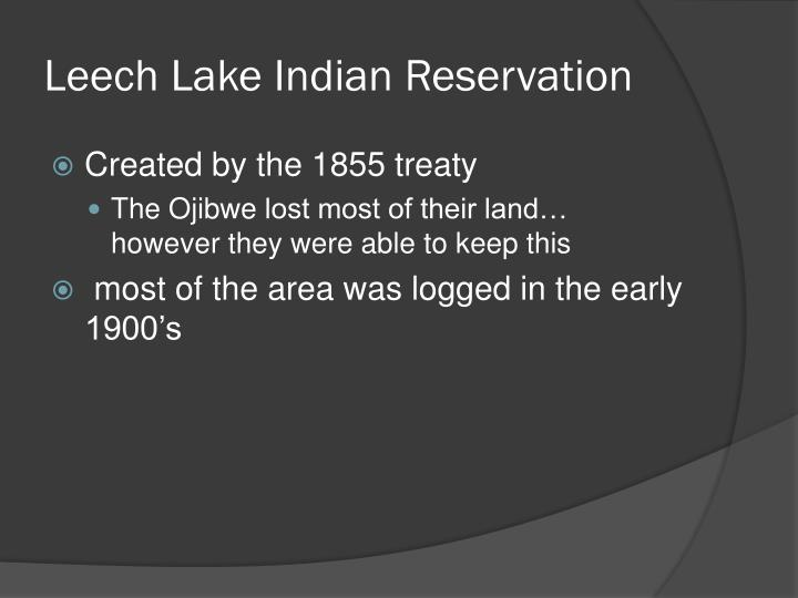 Leech Lake Indian Reservation