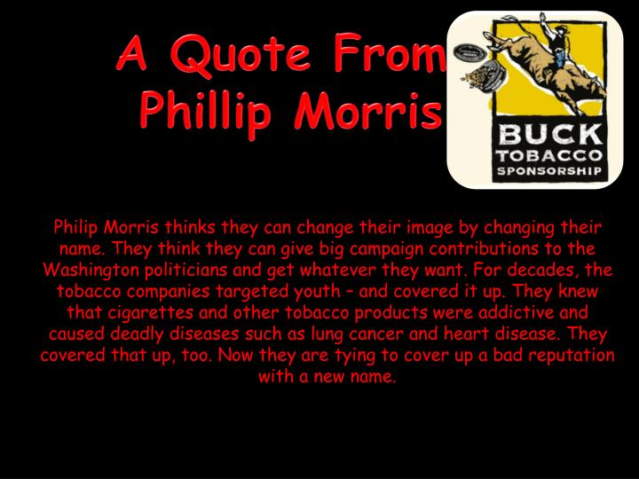 A Quote From