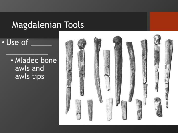 Magdalenian Tools