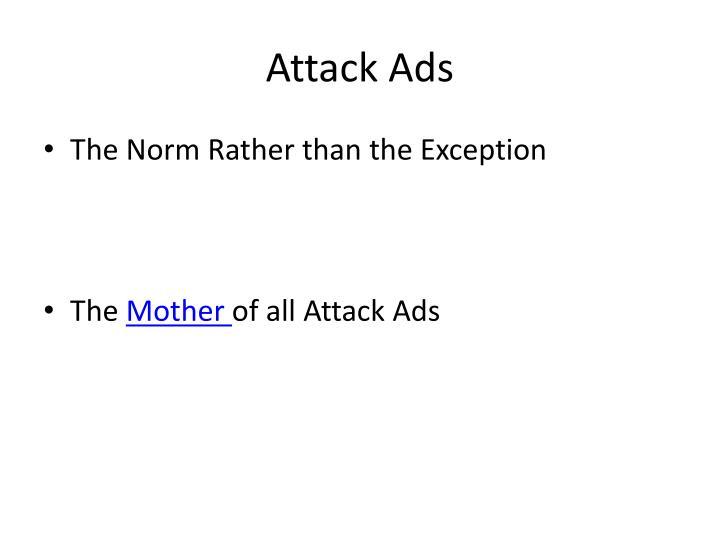 Attack Ads