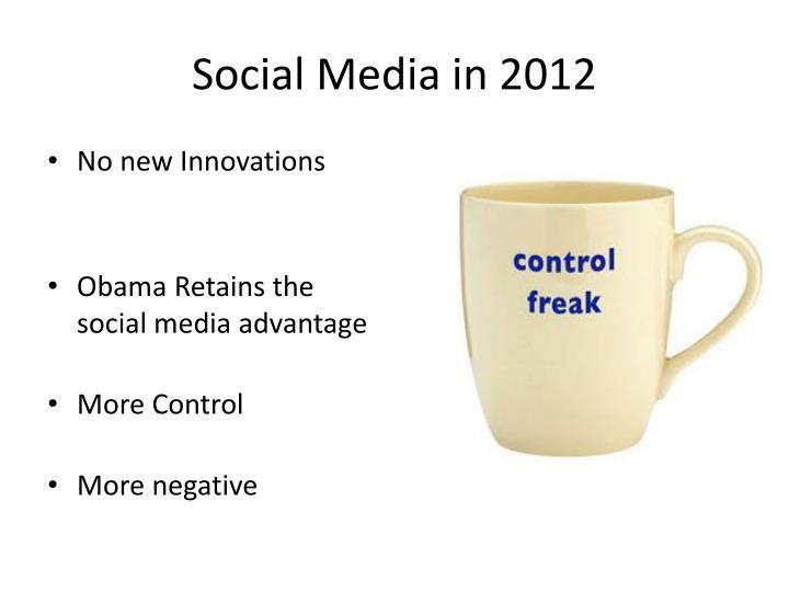 Social Media in 2012