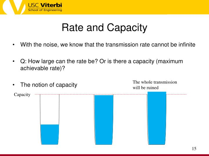 Rate and Capacity