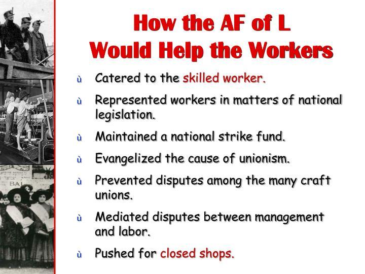 How the AF of L