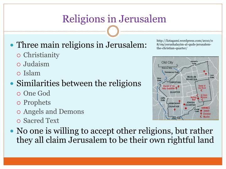 Religions in Jerusalem