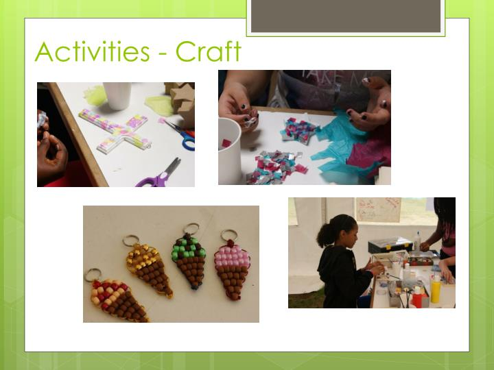 Activities - Craft