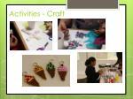 activities craft