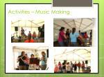 activities music making