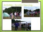activities scottish dancing