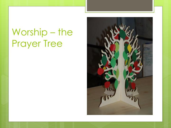 Worship – the Prayer Tree