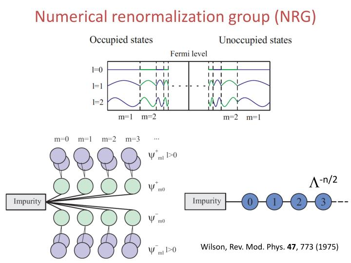 Numerical renormalization group nrg