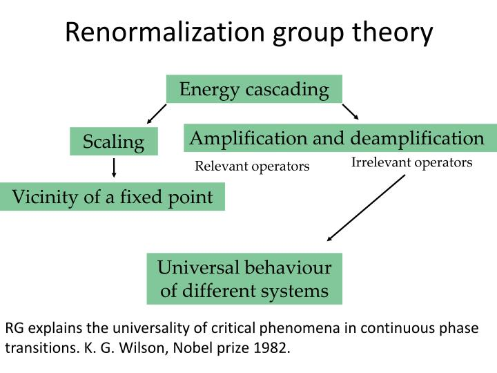 Renormalization group theory