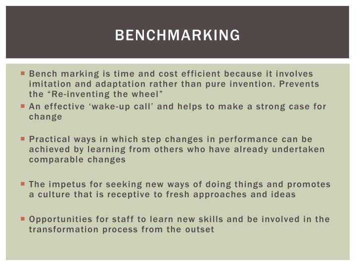 Benchmarking1