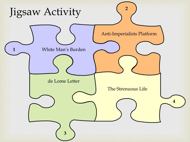 Jigsaw Activity