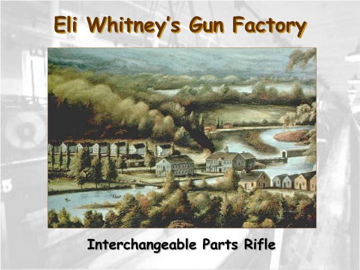 Eli Whitney's Gun Factory