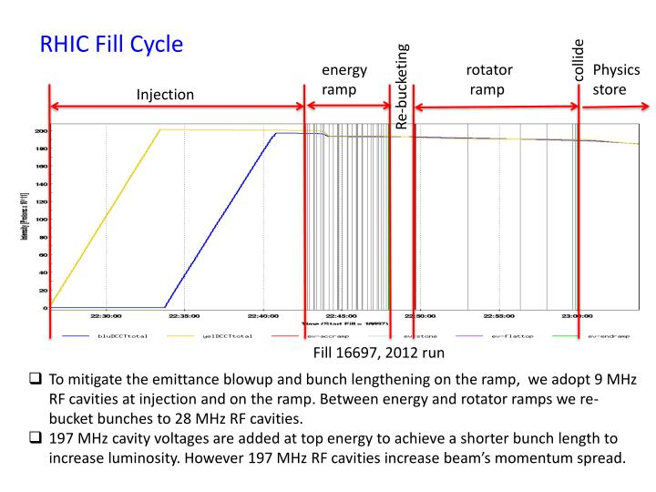 RHIC Fill Cycle