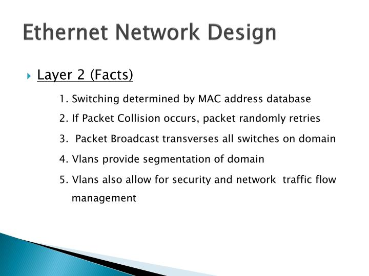Ethernet Network Design
