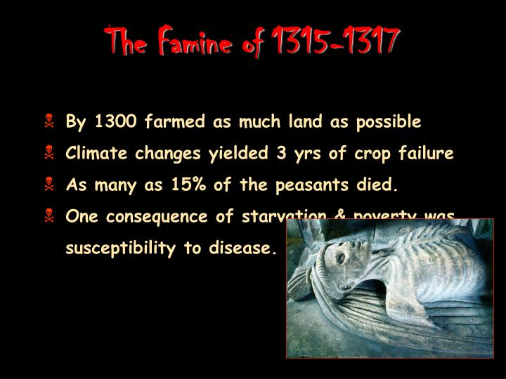 The Famine of 1315-1317