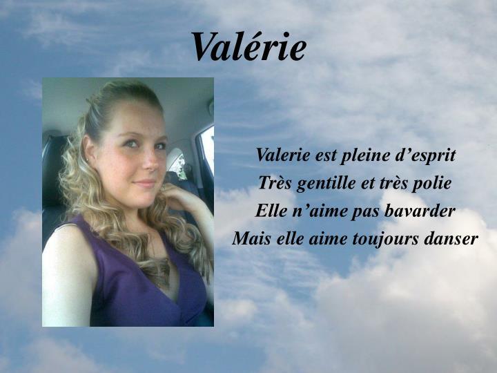 Valérie