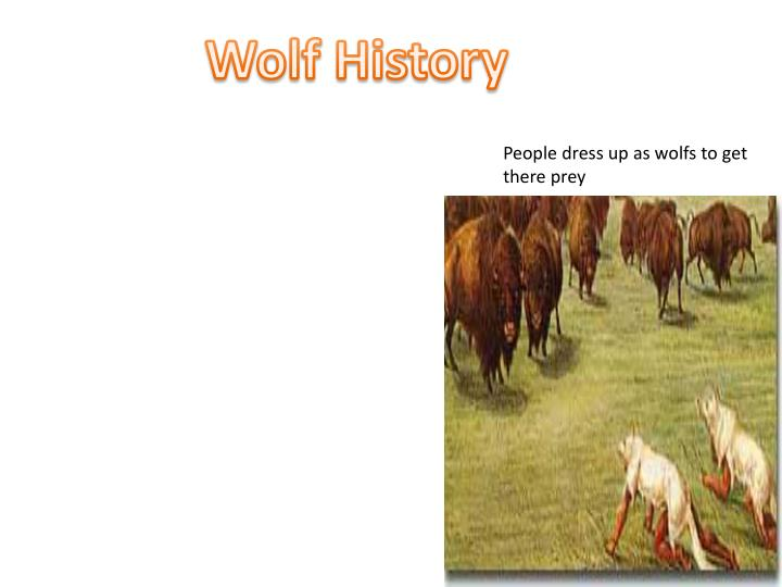 Wolf History