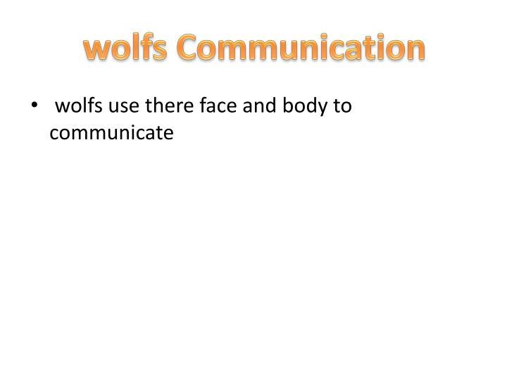 wolfs Communication