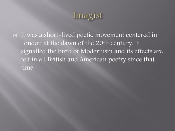Imagist