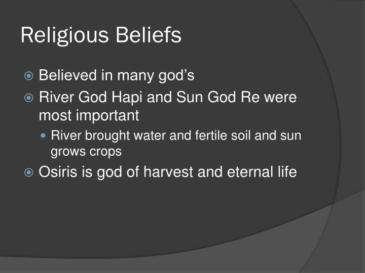 Religious Beliefs