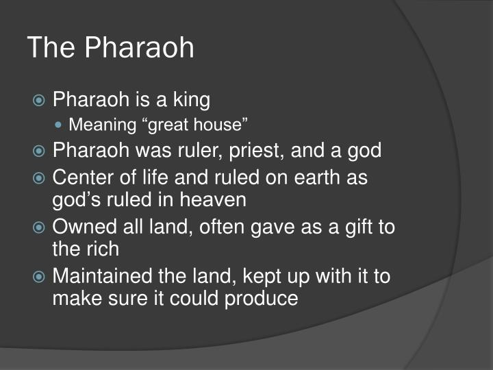 The Pharaoh