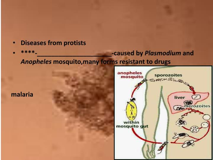 Diseases from
