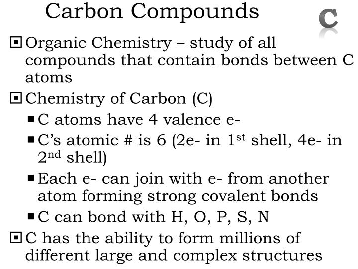 Carbon Compounds