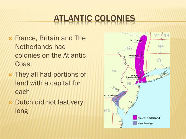Atlantic colonies